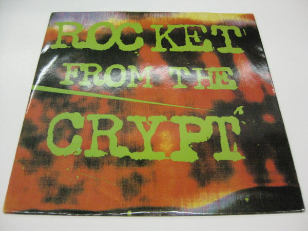 "ROCKET FROM THE CRYPT - Normal Carpet Ride +3 (US Ltd.Blue Vinyl 7"")"