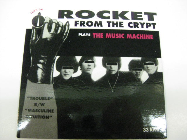 "ROCKET FROM THE CRYPT - Plays The Music Machine (US Ltd.5"")"