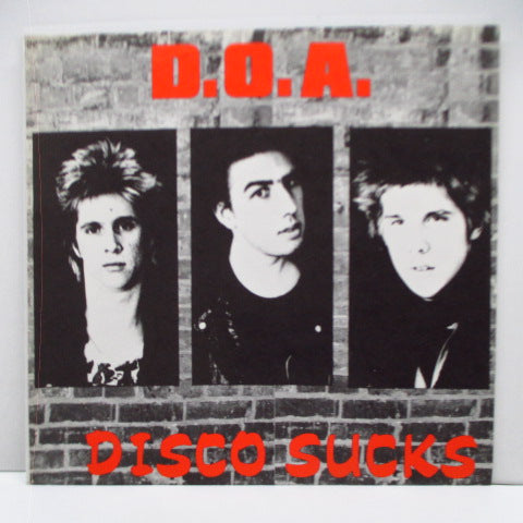 "D.O.A. - Disco Sucks (Canada Reissue 7"")"