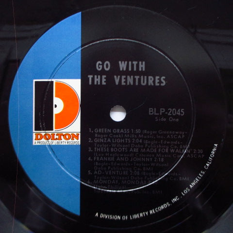 VENTURES - Go With The Ventures (US Orig.Mono LP)
