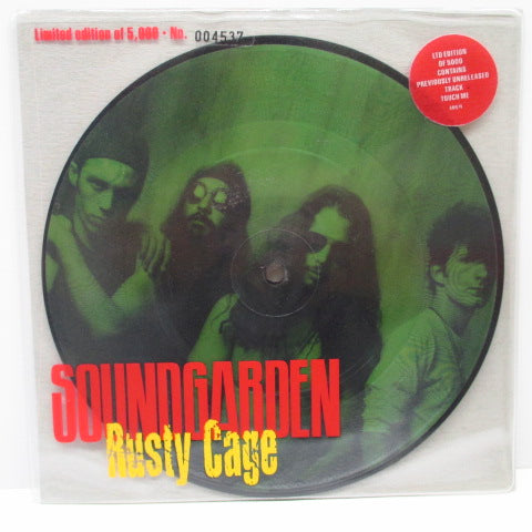 "SOUNDGARDEN - Rusty Cage (UK Ltd.Picture 7"")"