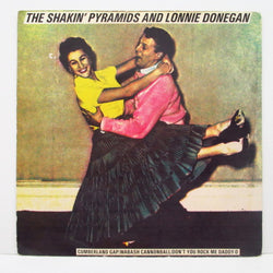 "SHAKIN' PYRAMIDS & LONNIE DONEGAN - Cumberland Gap + 4 (UK Orig.7"" EP/Hard PS)"