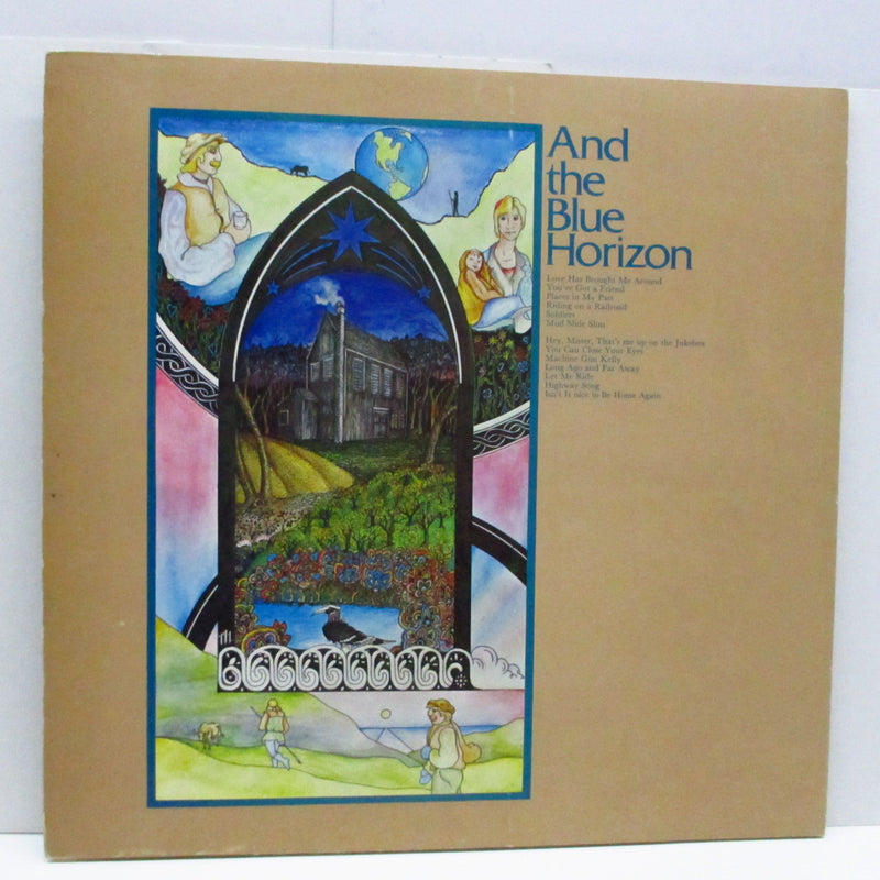 JAMES TAYLOR - Mud Slide Slim And The Blue Horizon (UK 70's 2nd Press LP/GS)