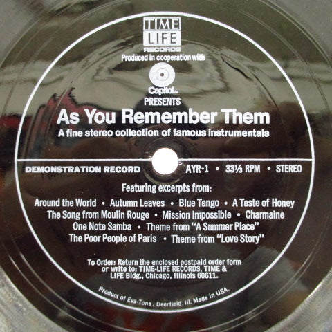 V.A. - As You Remember Them (US Promo FLEXI)