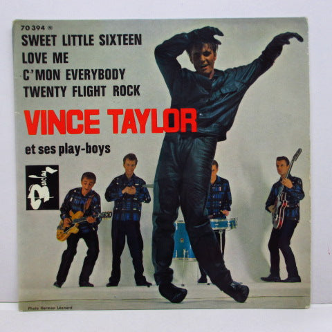 VINCE TAYLOR & PLAYBOYS - Sweet Little Sixteen +3 (French/Belgium 60's EP/CFS)