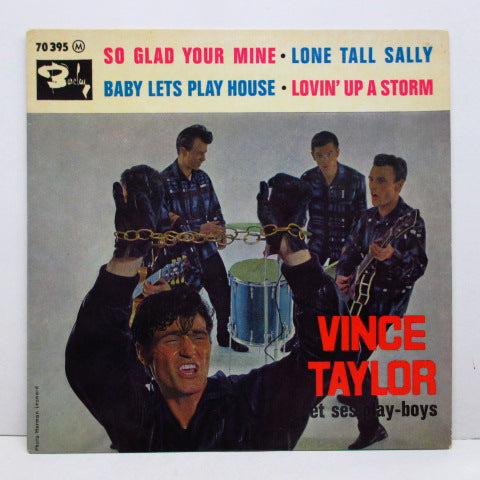 VINCE TAYLOR & PLAYBOYS - So Glad Your Mine +3 (FRANCE EP)