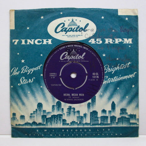 "WANDA JACKSON - Honey Bop (UK Orig.7""+CS)"
