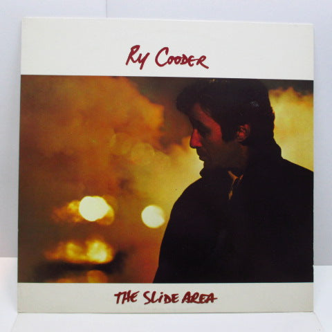 RY COODER - The Slide Area (UK Orig.LP/W Stamp CVR)