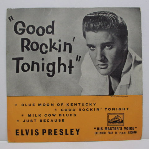 ELVIS PRESLEY - Good Rockin' Tonight (UK Orig.EP/CFS)