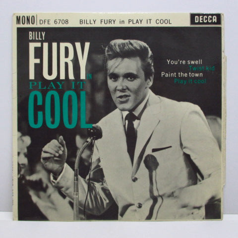 BILLY FURY - Billy Fury In Play It Cool (UK Orig.EP/CFS)