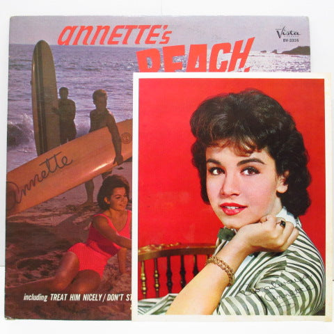 ANNETTE - Beach Party (US Orig.Mono LP+Photo)