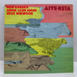 THIRD WORLD (WINWOOD/KABAKA/AMAO) - Aiye-Keta (US '76 Reissue LP)