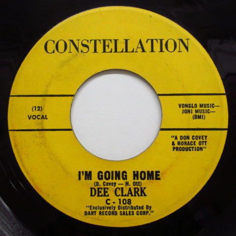 DEE CLARK - Crossfire Time / I'm Going Home
