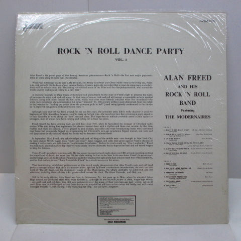 ALAN FREED & HIS R&R BAND  - Rock 'n' Roll Dance Party Vol.1 (UK Reissue)