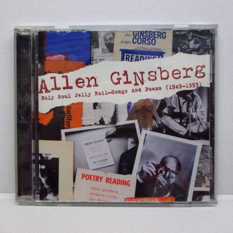 ALLEN GINSBERG - Holy Soul Jelly Roll : Poems And Songs 1949-1993 (US PROMO)