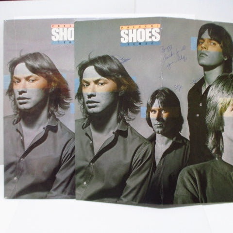 SHOES - Present Tense (US Orig.LP+Autograph Pop Board)