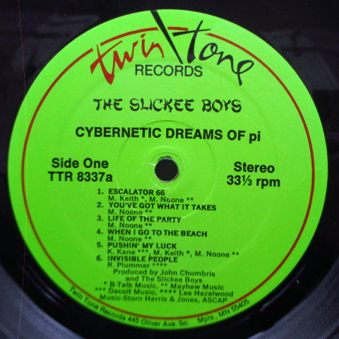 SLICKEE BOYS, THE - Cybernetic Dreams Of Pi (US Re LP+Autograph CVR)