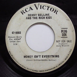 DENNY BELLINE & THE RICH KIDS - Money Isn't Everything (Promo)