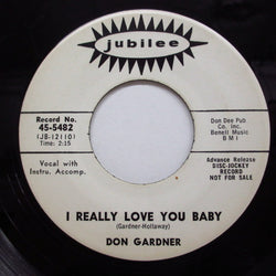 DON GARDNER - I Really Love You Baby (Promo)