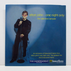 ELTON JOHN - One Night Only (The Valentine Sampler) (EU PROMO)