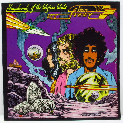 THIN LIZZY - Vagabonds Of The Western World (UK Orig.LP+Insert)
