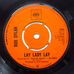 BOB DYLAN - Lay Lady Lay (UK Orig.Round Center)