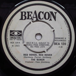 "BUNCH - Red Rover Red Rover / Happy Like This (UK Orig.7"")"