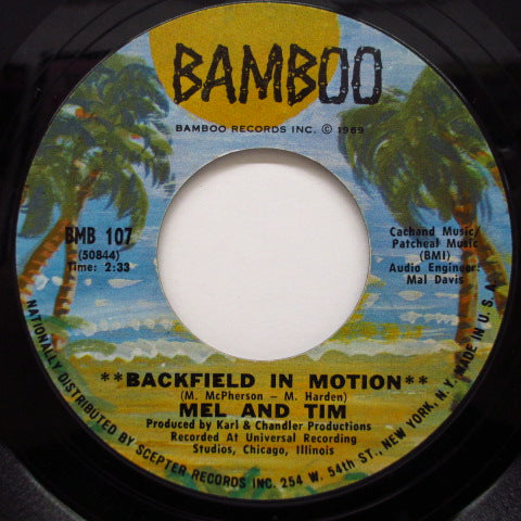 MEL & TIM - Backfield in Motion / Do Right Baby