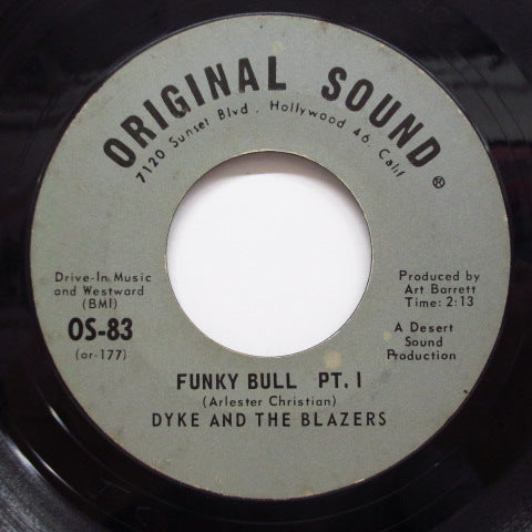 DYKE & THE BLAZERS - Funky Bull  (Part.1 & 2) (Orig)