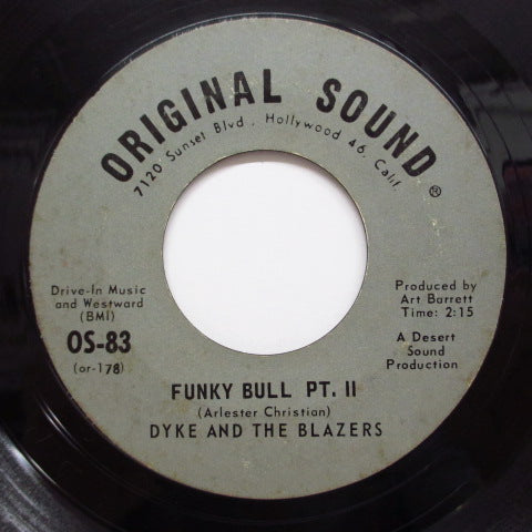 DYKE & THE BLAZERS-Funky Bull (Part.1 & 2) (Orig)