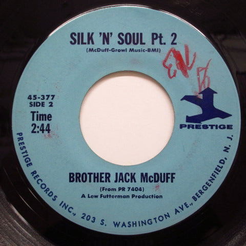 JACK McDUFF (BROTHER JACK McDUFF) - Silk 'N' Soul  (Part 2 / Part 1) (Orig.)