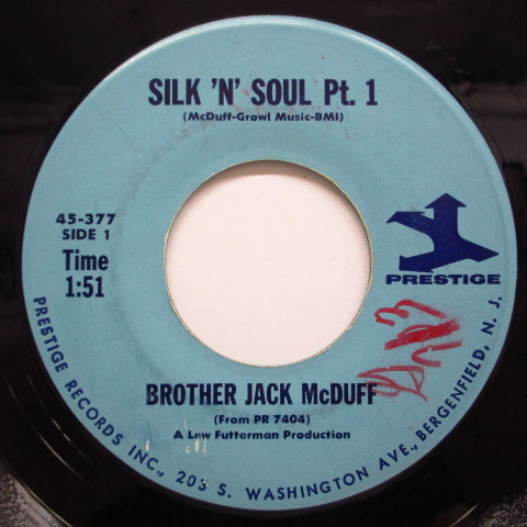 JACK McDUFF (BROTHER JACK McDUFF)-Silk 'N' Soul (Part 2 / Part 1) (Orig.)