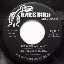 CHANNELS (EARL LEWIS & THE) - She Blew My Mind (Orig.)