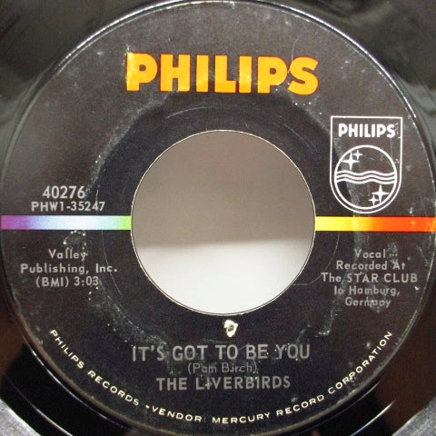 "LIVERBIRDS - Shop Around (US Orig.7""+CS)"