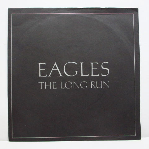 "EAGLES - The Long Run (UK Orig.7""+PS)"