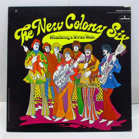 NEW COLONY SIX - Attacking A Straw Man (US Orig.Stereo LP)