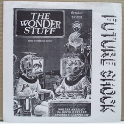 "WONDER STUFF, THE (ザ・ワンダー・スタッフ)  - Future Shock EP (US Unofficial.7"")"
