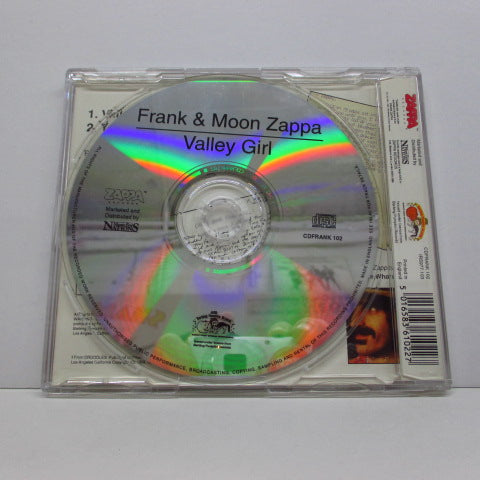 FRANK & MOON ZAPPA - Valley Girl / You Are What You Is (UK Orig.)