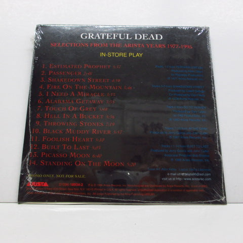 GRATEFUL DEAD - Selections From The Arista Years '77-'95 (US PROMO)