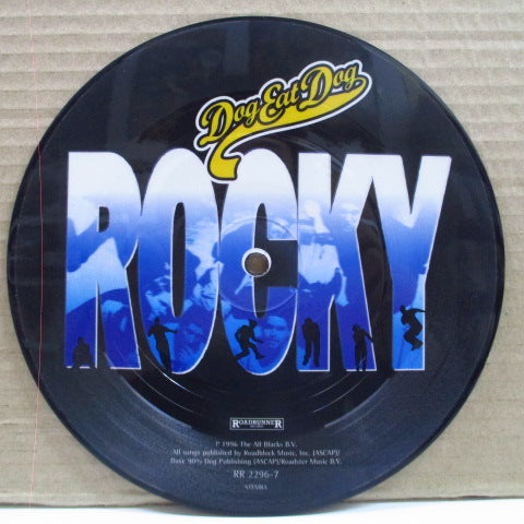 "DOG EAT DOG - Rocky (EU Orig.Picture 7"")"
