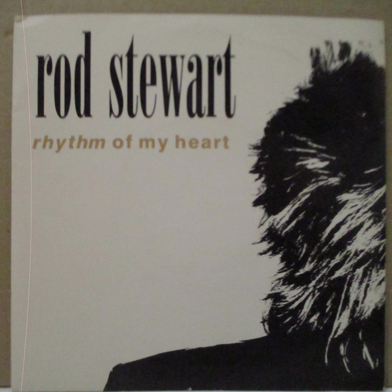 "ROD STEWART - Rhythm Of My Heart (UK Orig.7""+Matt PS)"