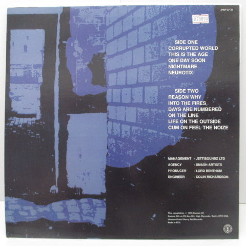 ONEWAY SYSTEM - Writing On The Wall (UK '96 Re LP/AHOY LP 21)