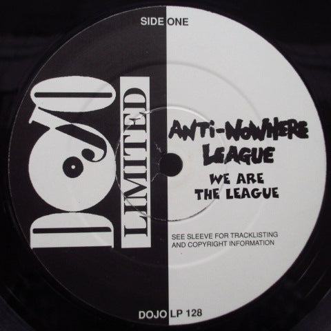 "ANTI-NOWHERE LEAGUE - We Are...The League (UK Re LP+7"")"