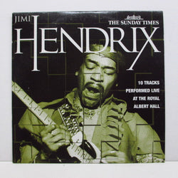 JIMI HENDRIX - 10 Tracks Performed Live At The Royal Albert Hall (UK Promo)