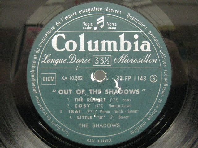 "SHADOWS - Out Of The Shadows (France Orig. Mono 10"")"