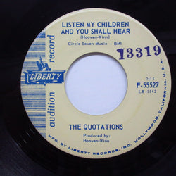 QUOTATIONS (クォーテーションズ)  - Listen My Children And You Shall Hear (Liberty Promo)