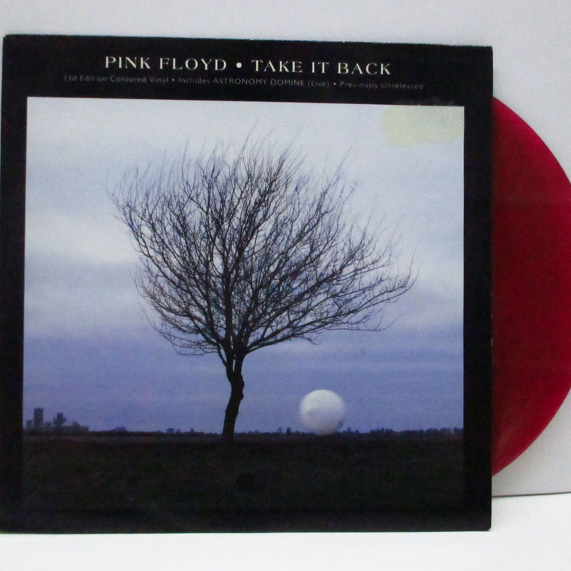 "PINK FLOYD (ピンク・フロイド)  - Take It Back (UK Ltd.Red Vinyl 7""+PS)"