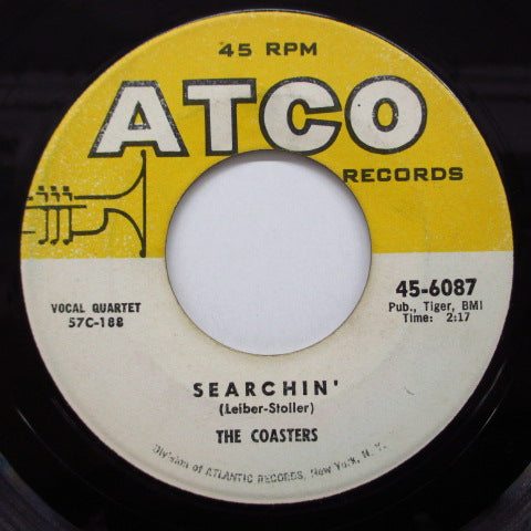 COASTERS - Searchin' / Young Blood (60's 2nd Press)