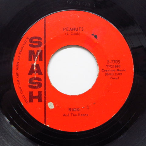 RICK & THE KEENS - Peanuts ('61 Smash Reissue)