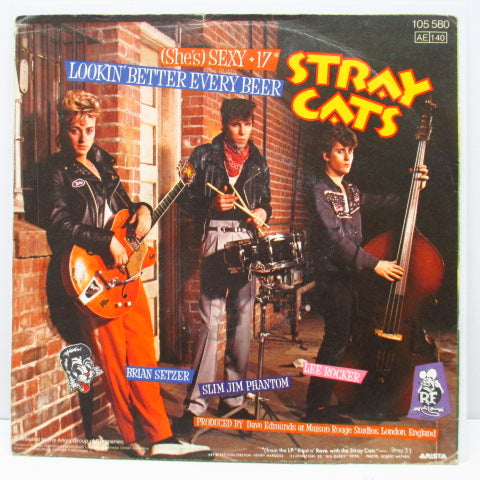 "STRAY CATS - Sexy+17 (EU Orig.7""+PS)"